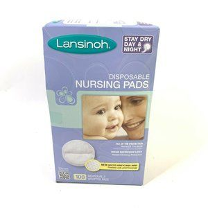Lansinoh Nursing Pads 100 Stay Dry Disposable Brea